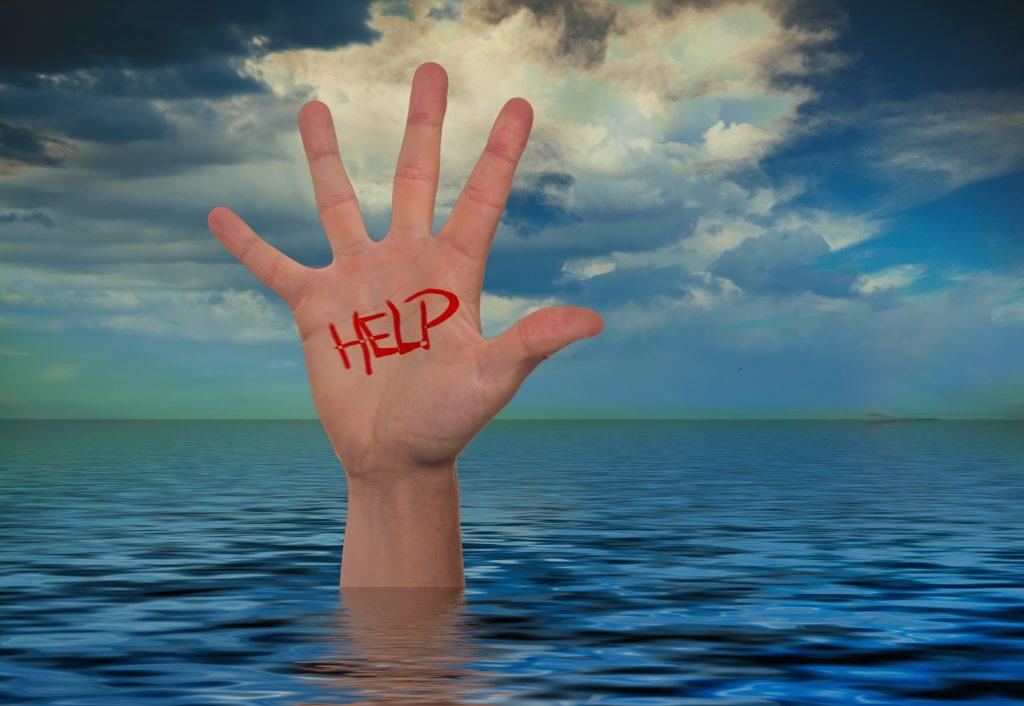 Dopamine Darling Help Hand Drowning