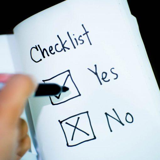 Dopamine Darling Checklist Yes No